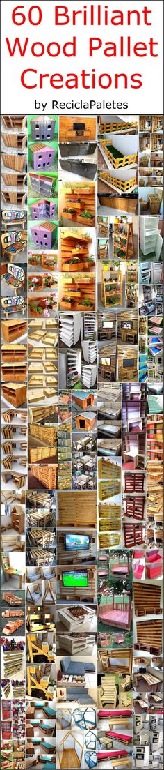 Recycling an old shipping pallet wood for your home is not only an easy task but also appears useful. Reshaping the useless pallet of your place is much effective and a healthy activity as you can create unlimited wooden products with it. If you are DIY lover and have the desire to craft something exceptional for your home furnishing then pallet wood is the best option for you.  #pallets #woodpallet #palletfurniture #palletproject #palletideas #recycle #recycledpallet #reclaimed #repurposed