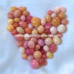 Happy Valentine's Day! Conch Pearls at www.thepearlcollector.com