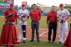 Nick Adenhart Award to GRich and Mike Trout with the MVP