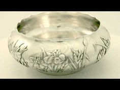 Video ... Chinese Export Silver Bowl - Antique Circa 1880 - AC Silver (W6287). More info here http://www.acsilver.co.uk/shop/pc/Chinese-Export-Silver-Bowl-Antique-Circa-1880-41p4722.htm