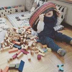 #woodenstory #playtime  #woodenblocks #babysroom #interior #home #woodentoys #ecotoys #greentoys #handcrafted finished with #beeswax  and #botanicaloils  made in the #beskidymountains #poland  •  photo by our friend @nynneetliloujos