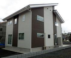 外壁 サイディング 木目 | 岡山県真庭市でファースの家 ...