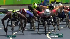 Athletics | Mens 5000m - T54 Final | Rio 2016 Paralympic Games http://www.youtube.com/watch?v=go5ldndview