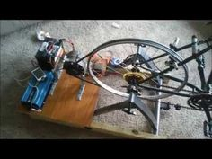 Bicycle Generator: (BEST DESIGN) Stay In Shape & Power Electronics - YouTube