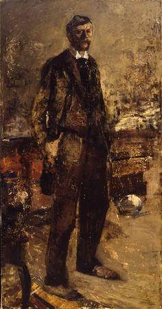 George Hendrik Breitner. Zelfportret, 1887 - Stedelijk Museum Amsterdam