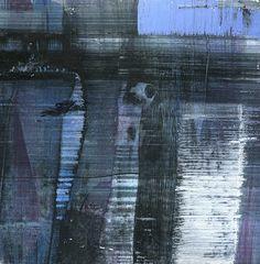 GRISAZUR: Acrílico sobre papel, 13x13 cm.Sep. 28, 2016