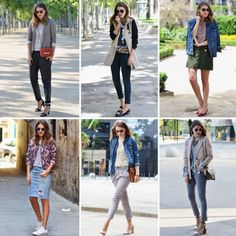 MAY OUTFITS Mireia says: A new month starts tomorrow so it's time to make a recap of the outfits seen here during May. Welcome June! More hear: http://stylelovely.com/mydailystyle/2013/05/may-outfits