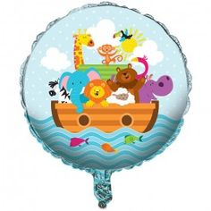Baby Shower Supplies, Noah's Ark Foil Balloons, Decorations