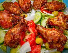 """Chrono Diät on Instagram: """"Wie hat euer Mittagessen bei diesen warmen Sommertemperaturen ausgeschaut? Wir hatten heute auf dem Speiseplan...…"""" Tandoori Chicken, Chicken Wings, Ethnic Recipes, Instagram, Food, Eat Lunch, Summer, Essen, Meals"""