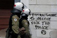deaththreatz:  #MayDay in Greece.