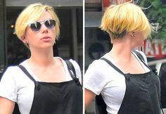 Scarlett Johansson Chops Off Her Hair