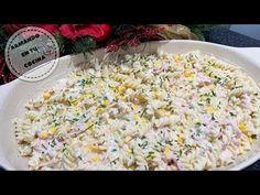Pasta En Salsa Blanca - YouTube Salsa Verde, Snack Recipes, Snacks, Fried Rice, Fries, Ethnic Recipes, Youtube, Food, White Sauce Pasta