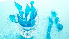 Twisted until pearly and perfect, these sweet spirals look just like icicles! Quick and easy made-in-the-microwave candy.