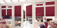 Looking for blinds in the conservatory? Look no further - try our Perfect Fit rollers for UPVC conservatories, windows and doors. Floor To Ceiling Windows, House Windows, Blinds For Windows, Windows And Doors, Pvc Windows, Window Blinds, Patio Door Blinds, House Blinds, Patio Doors