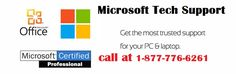 Dial Microsoft Tech Support phone number 1-877-776-6261 for any issue realted to Microsoft support, our Microsoft Tech Support team provides instant support for Microsoft office and windows in USA and Canada