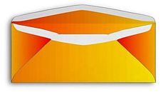 Sold - 30 colorful red, orange and yellow envelopes (CA) Thank you!