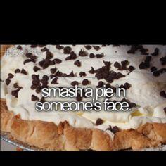 pie someone