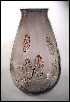 Ingeborg Lundin, handblown vase, 1953