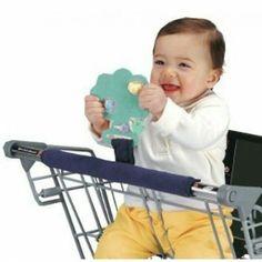 Protetor para Carrinho de Supermercado Jolly Jumper O protetor para carrinho de supermercado Buggy Buddy pode ser levado na bolsa e evita que o bebê toque com as mãos ou com a boca a barra do carrinho de supermercado. ATENÇÃO: O MORDEDOR NÃO ACOMPANHA O PRODUTO  R$49,90 + frete  Compras www.missybaby.com.br
