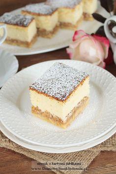 Tiramisu, Cheesecake, Food And Drink, Cooking Recipes, Impreza, Ethnic Recipes, Easy, Tart, Apple Tea Cake