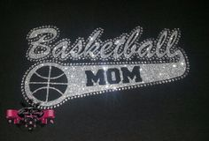 Basketball Mom Glitter and Rhinestone Tee by KandyCoat on Etsy, $25.00