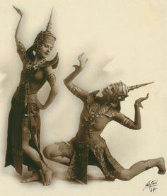 ruth st denis as thai dancer in thai costume