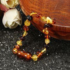 Fashion Multicolor Natural Amber Bracelets Chain Trendy Amber Elastic Bracelet Gift for Girl Women Body Jewelry, Jewelry Sets, Jewelry Watches, Women Jewelry, Amber Bracelet, Beaded Bracelets, Gifts For Girls, Gifts For Women, Pendant Earrings