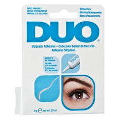 A best-selling eyelash adhesive that is safe and easy to use.