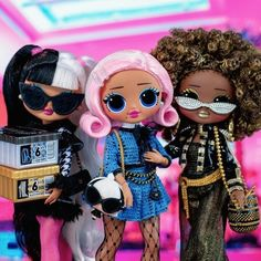 Lol Dolls, Cute Dolls, Bratz Doll, Barbie Dolls, Studios D'art, Ladybugs Movie, Disney Princess Fashion, Real Queens, Cartoon Girl Drawing
