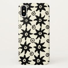 Vintage Batik Stars Textile Wallpaper Pattern Case-Mate iPhone Case