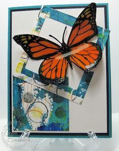 Crafter's Companion USA Information Blog : Fabulous Backgrounds & Butterflies Tutorial!