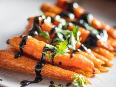 Roasted Carrots With Black Sesame Dressing Recipe   Serious Eats