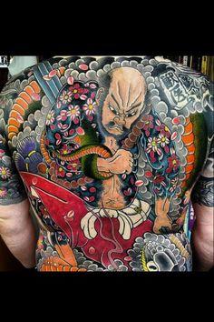 PHOTOS. 20 tatoueurs au style japonais, idées de tatouage japonais - L'Express Styles