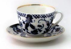 Lomonosov Porcelain Tea Cup