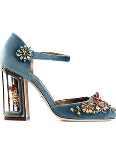 Shoppen Dolce & Gabbana 'Vally' pumps von aus den weltbesten Boutiquen bei farfetch.com/de. In 300 Boutiquen an einer Adresse shoppen.