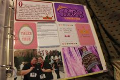 Disney Scrapbooking page ft Project Life Products