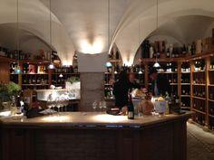 Local wine shop.  Bolzano, Italy