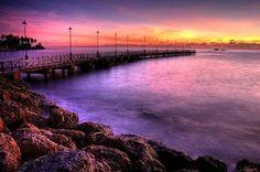 Speightstown pier at sunset (Charles Joynt) #barbados
