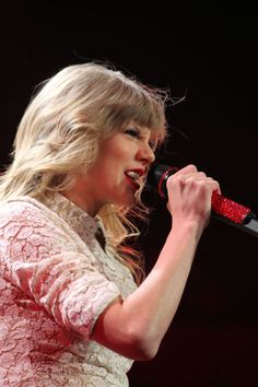 Taylor Swift in concert at Time Warner Cable Arena Friday, March 22, 2013.