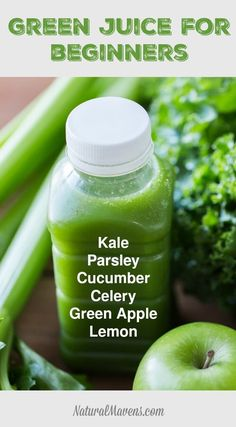 The Best Green Juice for Beginners to Start With. Click for the recipe and instructions.