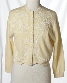 Vintage 1950s Sweater // Spring Fashion at Fab Gabs: The Golden ...