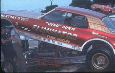 photos of dyno don nicholson's mustang | Dyno Don Nicholson in his 69 Eliminator. He was the greatest Mercury ...