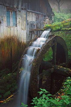 Mill In Apuseni Mountains, Romania