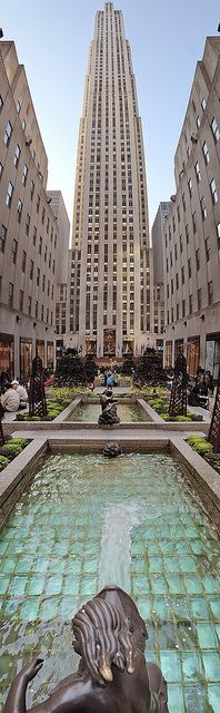 Rockefeller Center, NYC, USA.I would love to go see this place one day.Please check out my website thanks. www.photopix.co.nz