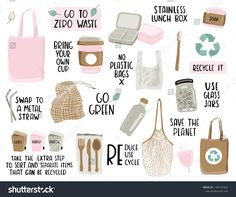 How many of these eco-friendly practices have you adopted? I am such a stickler for properly sorting garbage, recycling and organics ♻️🗑🌱 My favourite, though, is REDUCE! Just buy less in the first place and less will go to waste 🚫 . Shape Fitness, No Waste, Reduce Waste, Reduce Reuse, Reuse Recycle, No Plastic, Plastic Waste, Save The Planet, Sustainable Living