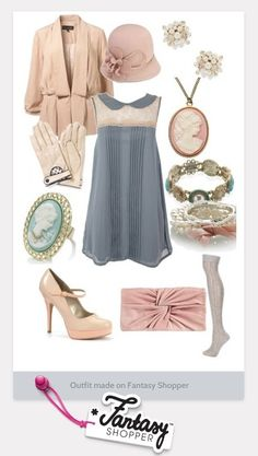 Great gatsby inspired outfit... Love it