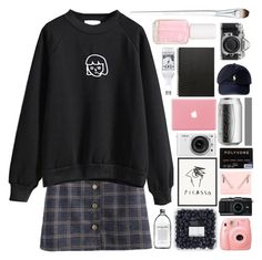 """asstrology"" by dont-go-to-sleep ❤ liked on Polyvore featuring Kenzo, Nikon, Muji, Essie, Liz Earle, women's clothing, women, female, woman and misses"