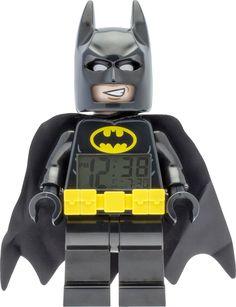 Lego - Batman Movie Alarm Clock - Black
