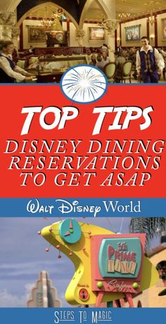 ADRs, or Disney advance dining reservations, are one of the many steps to a successful and fun trip to Walt Disney World. Without them, you're stuck wandering around and stressing out over where you could actually eat. This is incredibly important during busier times, like every month from January through until December 🙂 Most restaurants …