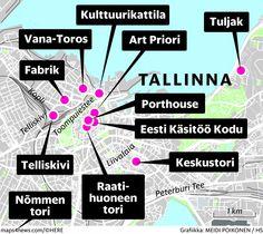 Tallinna kutsuu jouluun – tässä ovat parhaat vinkit joulutoreille, uusiin ravintoloihin ja joululahjoihin - Matkailu - Matka - Helsingin Sanomat Tori Tori, Map, Location Map, Maps